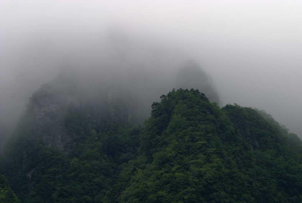 photo, la mati�re, libre, am�nage, d�crivez, photo de la r�serve,Illusion de montagnes profondes, brouillard, brouillard, nuage, montagne