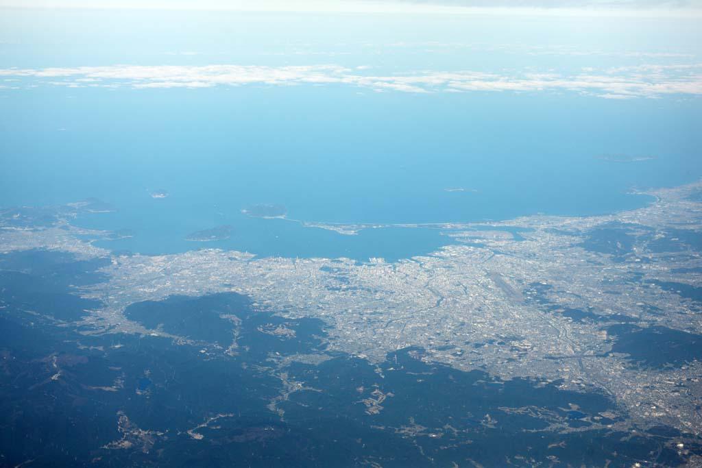 photo,material,free,landscape,picture,stock photo,Creative Commons,Hakata, The sea, , Shikashima, Gulf of Hakata
