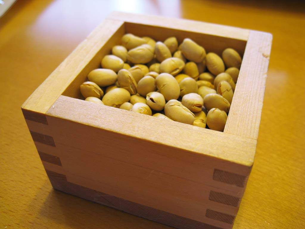 photo,material,free,landscape,picture,stock photo,Creative Commons,A traditional end of winter bean, soy bean, measure, Traditional end of winter, Japanese culture