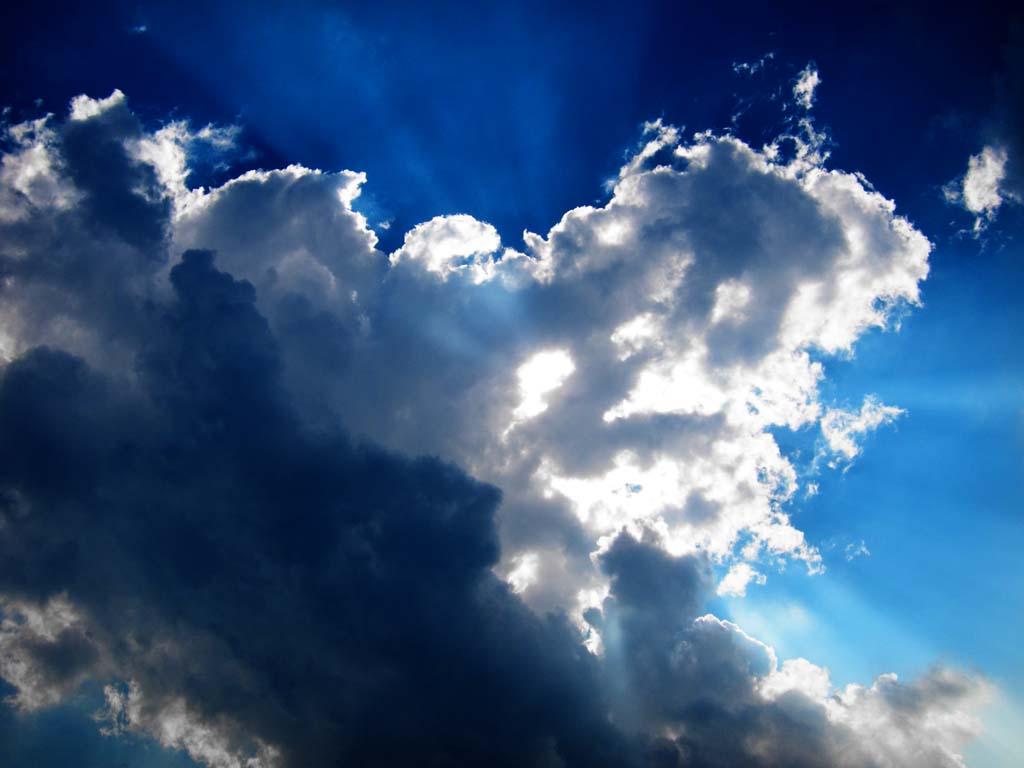 写真,素材,無料,フリー,フォト,クリエイティブ・コモンズ,風景,壁紙,輝く夏の雲, 雲, 青空, 光陰,