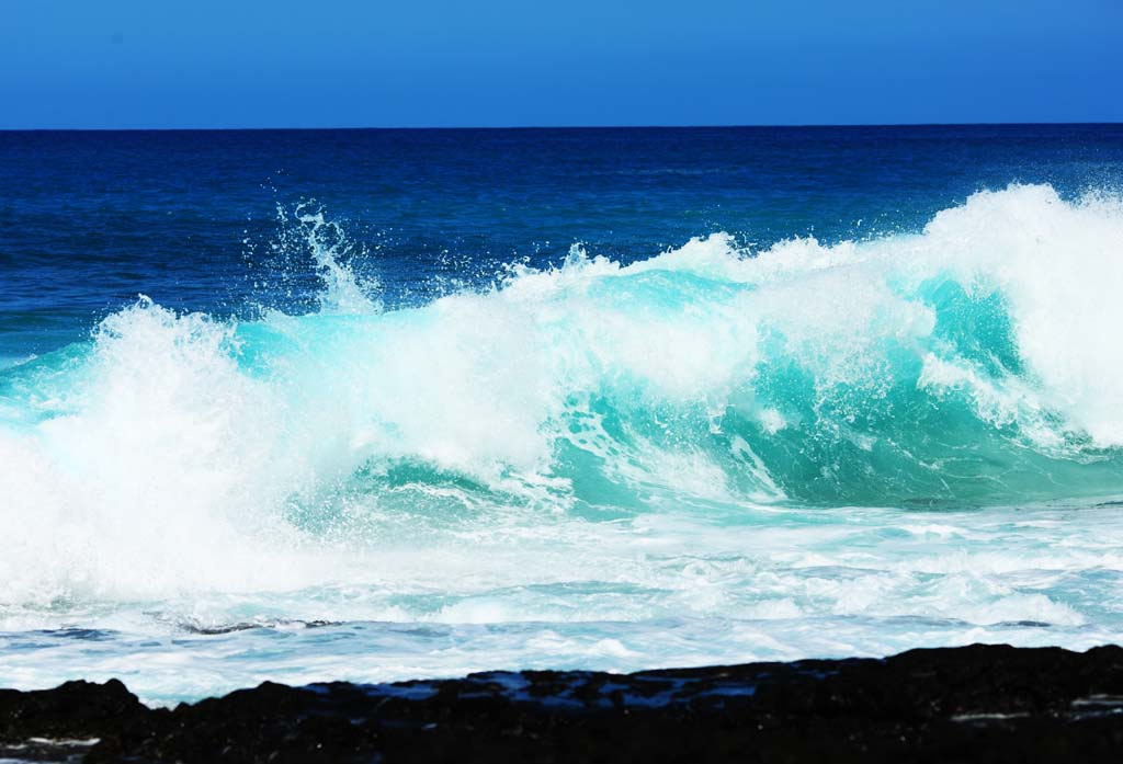 photo,material,free,landscape,picture,stock photo,Creative Commons,Hawaii Island wave of break, , , ,
