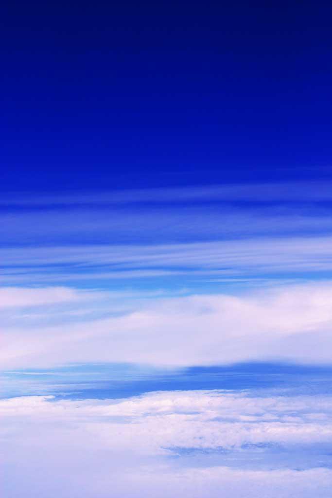 写真,素材,無料,フリー,フォト,クリエイティブ・コモンズ,風景,壁紙,パーフェクトブルー, 雲, 空, ,