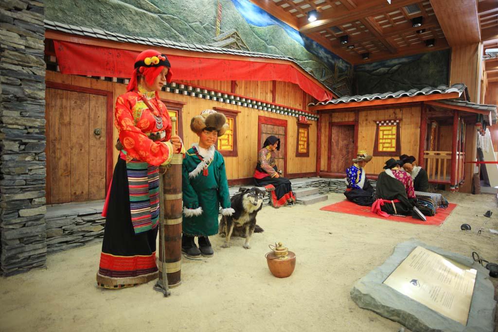 foto,tela,gratis,paisaje,fotografía,idea,Traje tibetano, , , ,