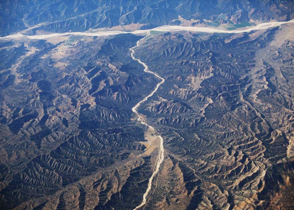 photo, la matière, libre, aménage, décrivez, photo de la réserve,Au-dessus du désert, désert, montagne, voie navigable, rivière