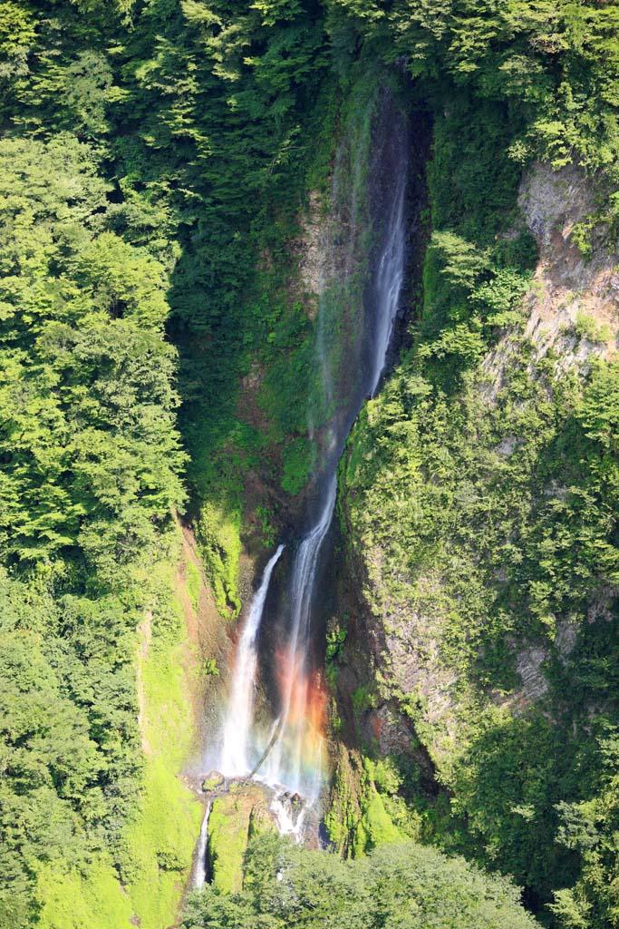 photo,material,free,landscape,picture,stock photo,Creative Commons,Waterfall Quake Medaki, , , ,