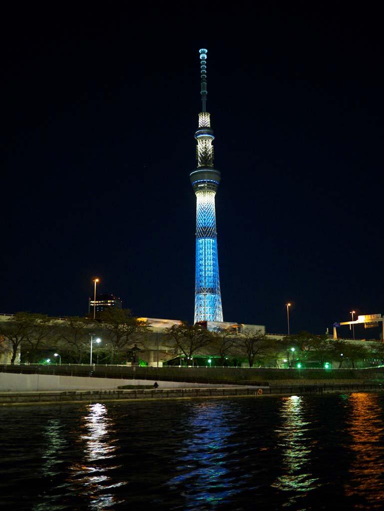 ゆんフリー写真素材集 No スカイツリー 日本 東京