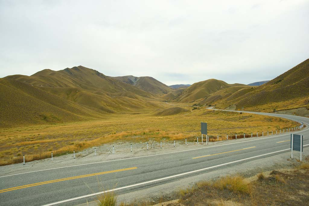 photo,material,free,landscape,picture,stock photo,Creative Commons,Lindis Pass, , , ,