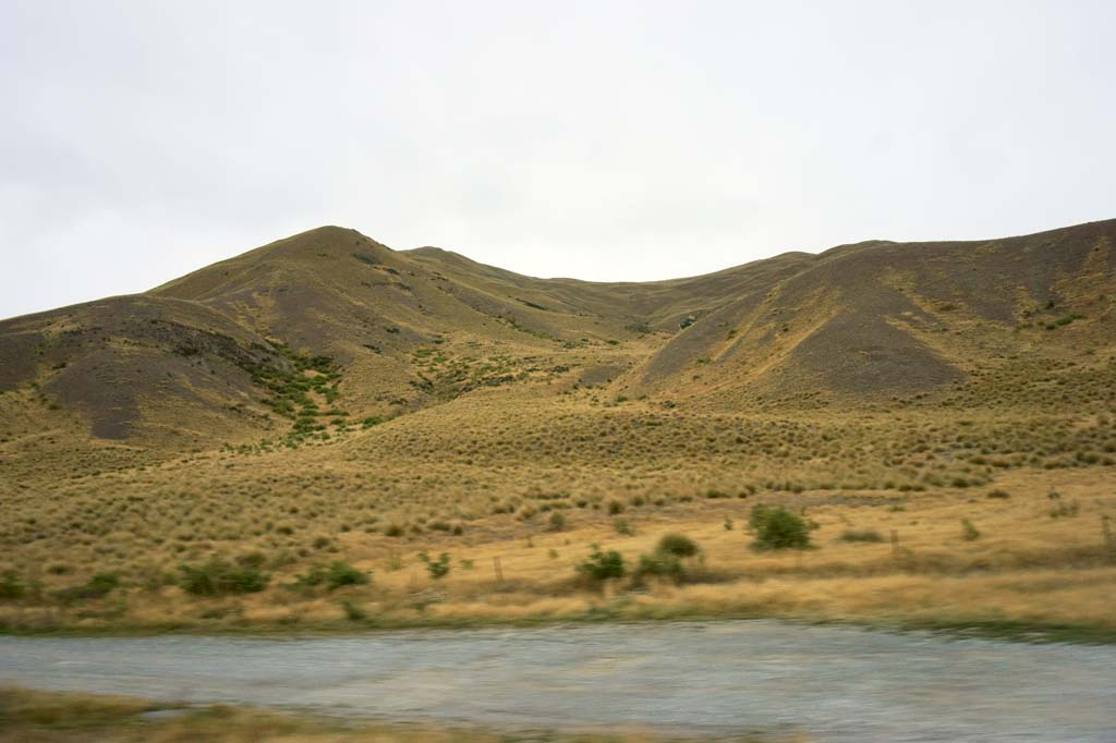 Foto, materieel, vrij, landschap, schilderstuk, bevoorraden foto,Lindis Pass, , , ,