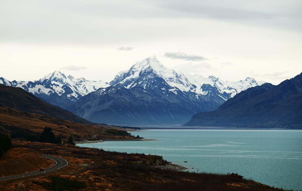 צילום, חינם גשמי, נוף, מדמין, צילום של מלאי ,הר קוק, , , ,