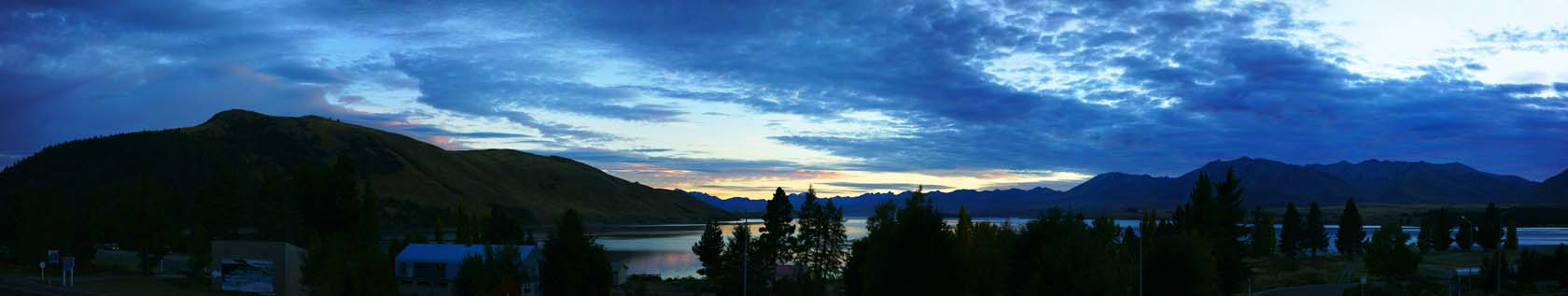 photo,material,free,landscape,picture,stock photo,Creative Commons,Tekapo of dusk, , , ,
