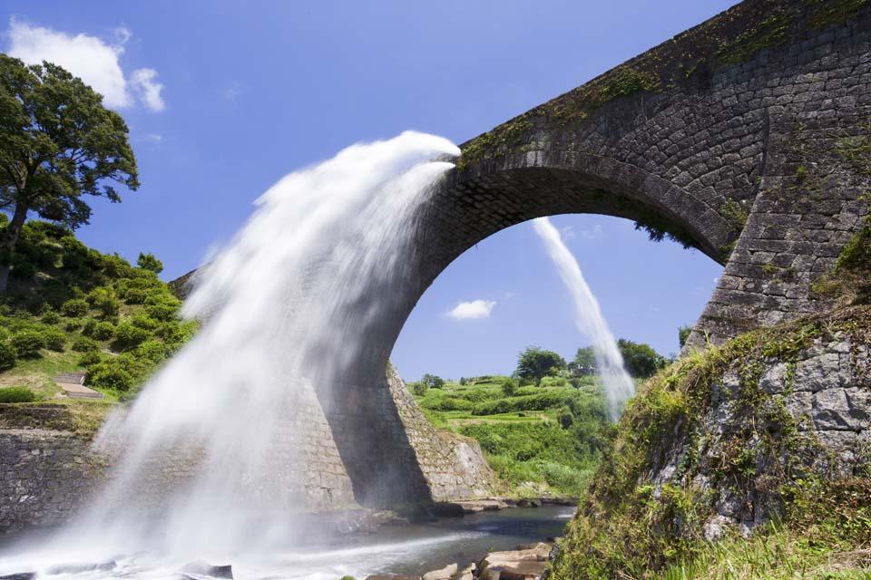 photo,material,free,landscape,picture,stock photo,Creative Commons,Authority of moisture bridge, Drainage, river, bridge, Water