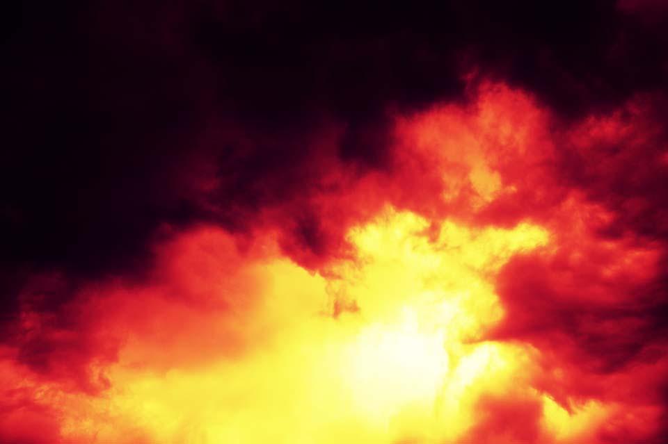 fotografia, materiale, libero il panorama, dipinga, fotografia di scorta,La nube che arde su, nebulosa, nube, Ombra, Fiamma