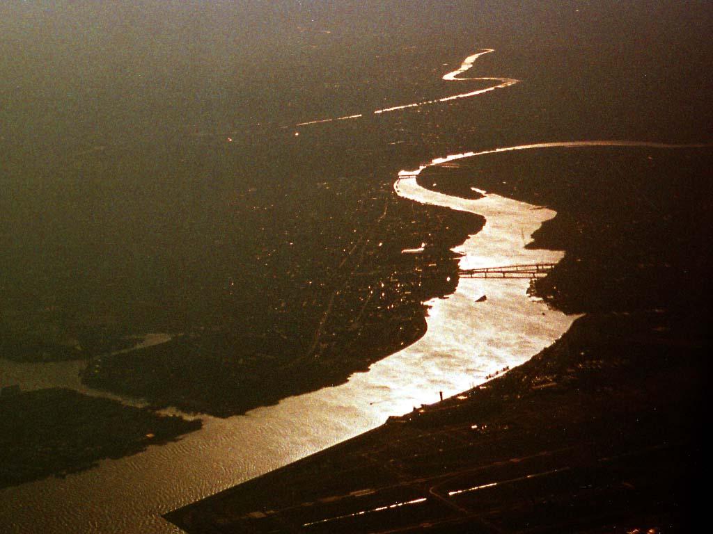 Il panorama, dipinga, fotografia di scorta,fiume di tama, fiume