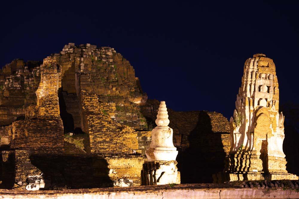 写真,素材,無料,フリー,フォト,クリエイティブ・コモンズ,風景,壁紙,ワット・プラ・マハタート, 世界文化遺産, 仏教, 建物, アユタヤ遺跡