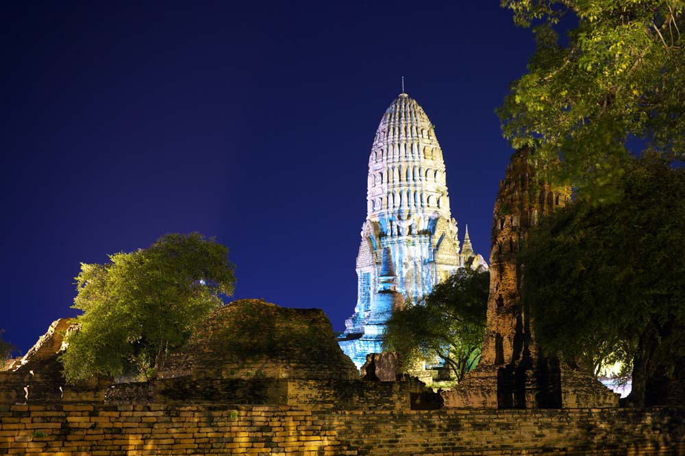 الصورة,المادة,حرر,منظر للطبيعة,جميل,صور,Ratchaburana Wat.  , تراث العالم الثقافي., البوذية., بناية الأنجستروم.  , يبقي Ayutthaya.
