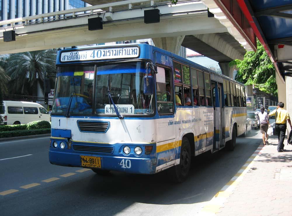 fotografia, materiale, libero il panorama, dipinga, fotografia di scorta,Un autobus tailandese, autobus, AUTOBUS, Trasporto pubblico,