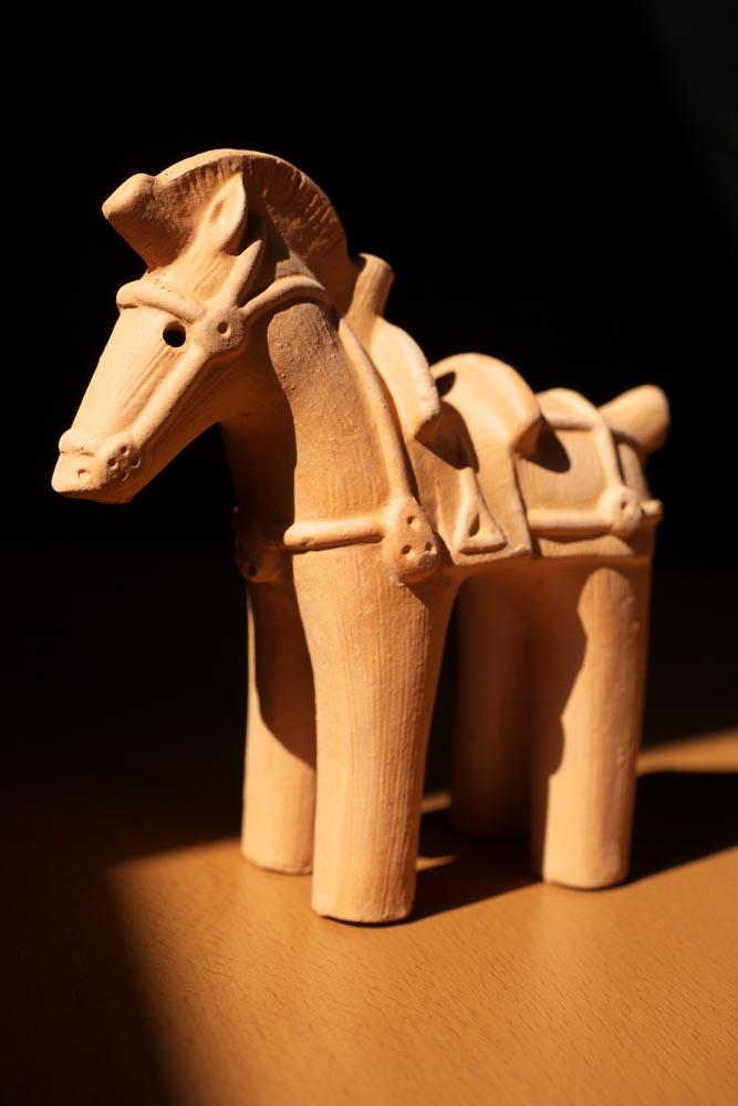 fotografia, materiale, libero il panorama, dipinga, fotografia di scorta,Un cavallo di un'immagine di creta, Un vecchio tumulo di sepoltura, , , immagine di creta