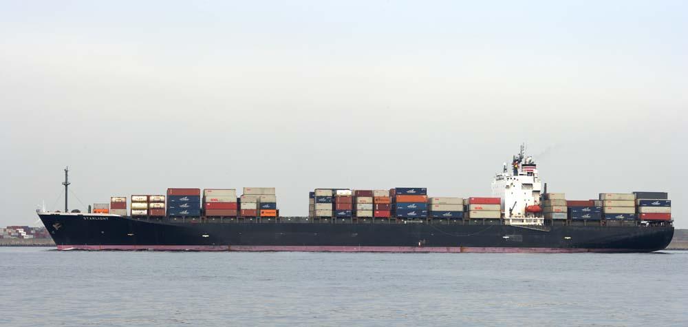 foto,tela,gratis,paisaje,fotograf�a,idea,Un buque portacontenedores, Embarcaci�n, Buque portacontenedores, Bote de carga, El mar