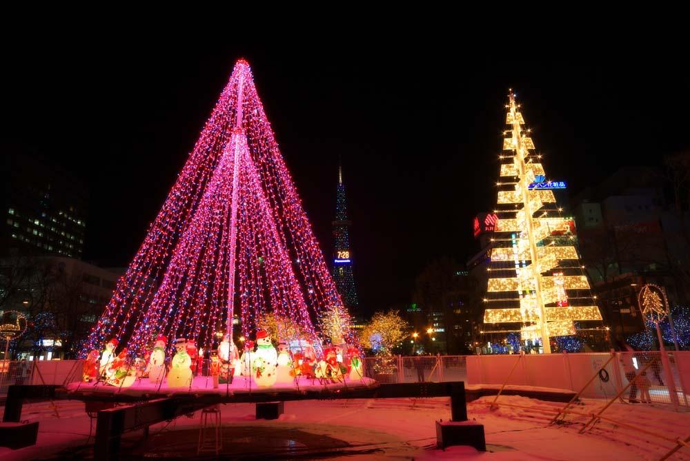 写真,素材,無料,フリー,フォト,クリエイティブ・コモンズ,風景,壁紙,クリスマスイルミネーション, X'mas, 電飾, ライト, 綺麗
