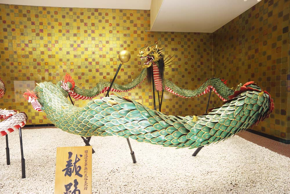 photo,material,free,landscape,picture,stock photo,Creative Commons,A dragon of Nagasaki KUNCHI, dragon, ball, festival, dragon dance