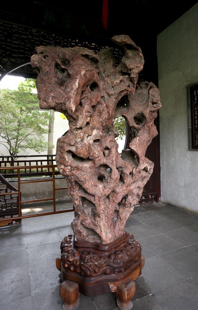 Foto, materiell, befreit, Landschaft, Bild, hat Foto auf Lager,Ein deformierter Kalkstein von Zhuozhengyuan, Stein, , Welterbe, Garten