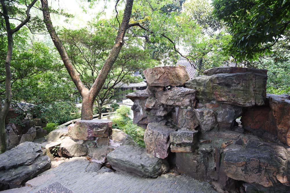 Foto, materiell, befreit, Landschaft, Bild, hat Foto auf Lager,Drängen-Steine von Zhuozhengyuan, Stein, , Welterbe, Garten
