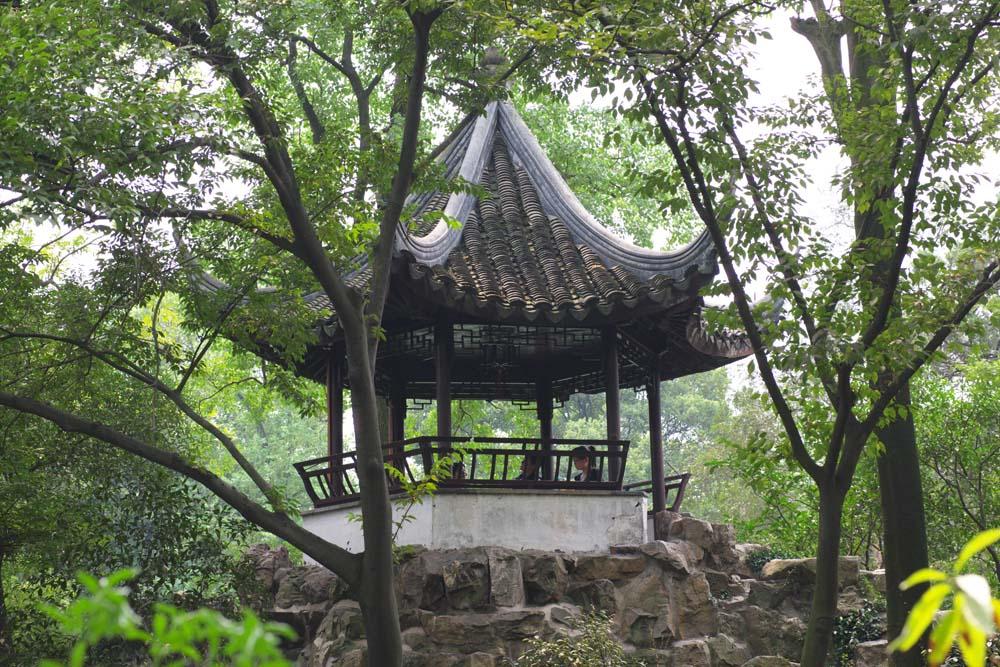 Foto, materiell, befreit, Landschaft, Bild, hat Foto auf Lager,Die Architektur von Zhuozhengyuan, Architektur, Sicht, Baum, Garten