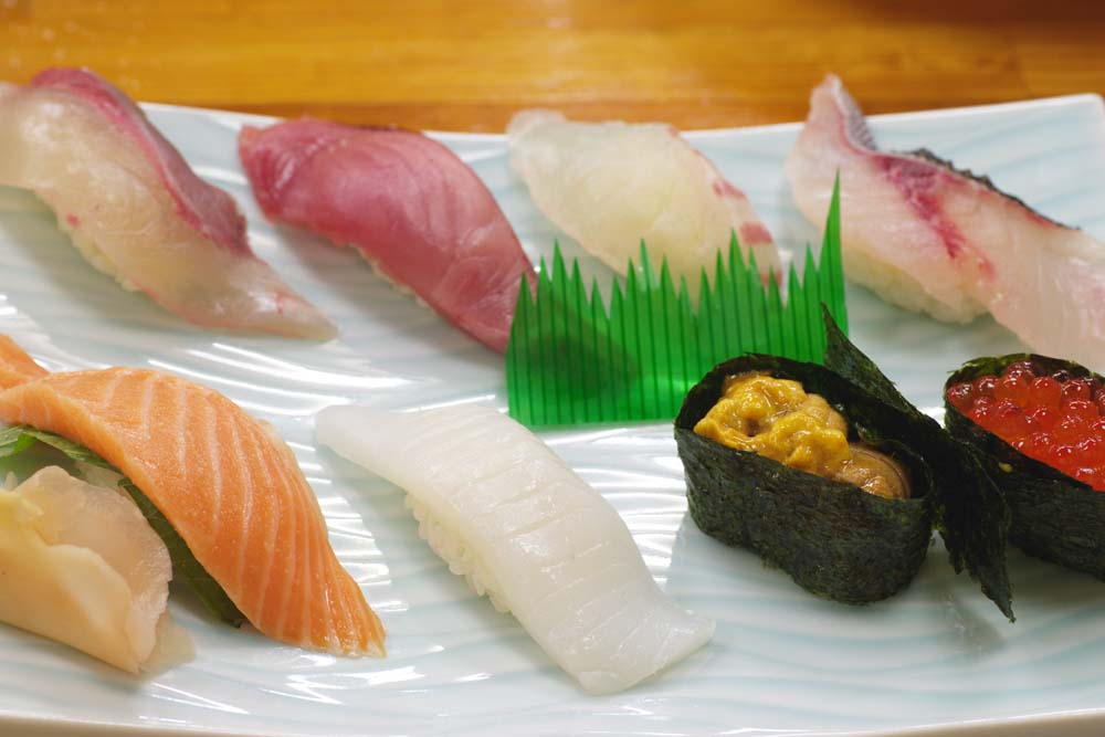 fotografia, material, livra, ajardine, imagine, proveja fotografia,Toque sushi, Peixe serve, Sushi, ,