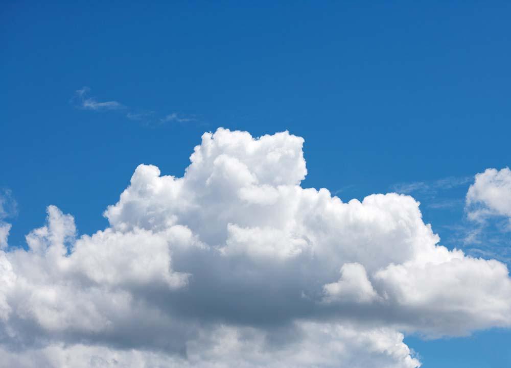 fotografia, materiale, libero il panorama, dipinga, fotografia di scorta,Una nube dell'estate, cielo blu, thunderhead, Di estate, Luce del sole
