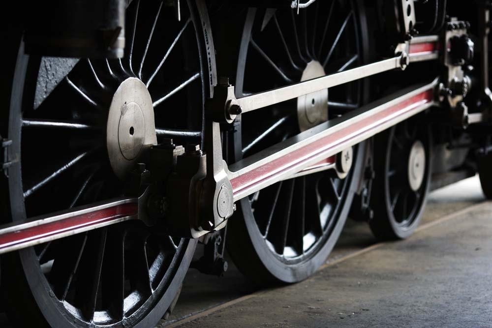 photo, la matière, libre, aménage, décrivez, photo de la réserve,Une roue motrice, vapeur locomotif, train, roue motrice, Fer