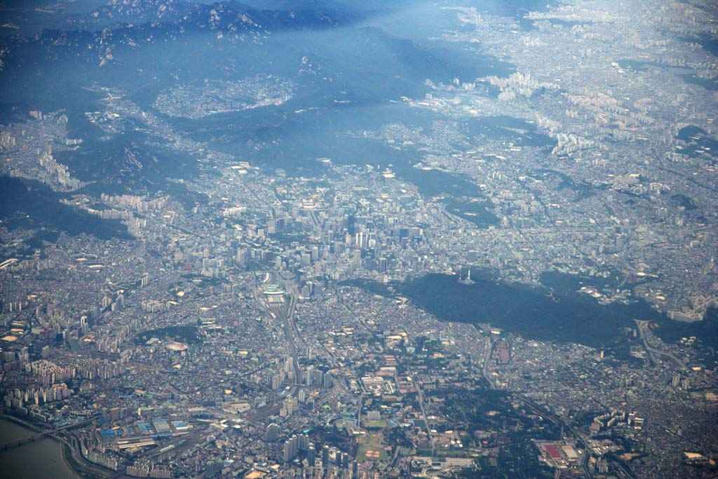 photo,material,free,landscape,picture,stock photo,Creative Commons,The Seoul sky, city, Seoul, N Seoul tower,