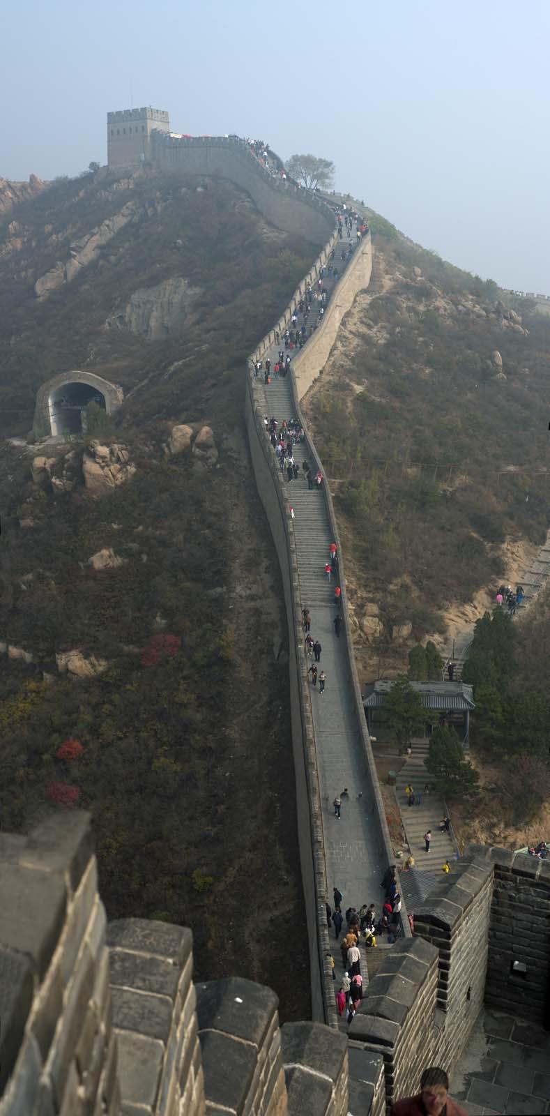 fotografia, material, livra, ajardine, imagine, proveja fotografia,Great Wall Panorama, Paredes, Castelo de Lou, Xiongnu, Imperador Guangwu de Han