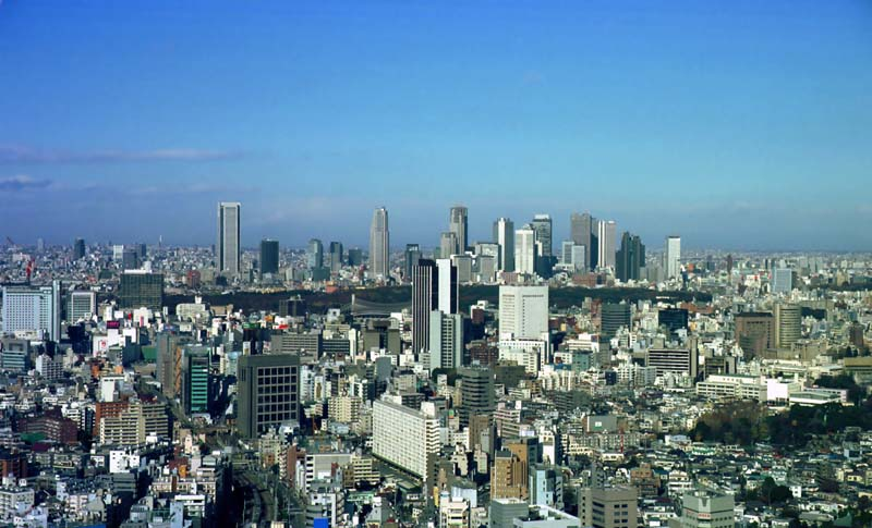 photo,material,free,landscape,picture,stock photo,Creative Commons,Scene of Tokyo, building, town, blue sky,
