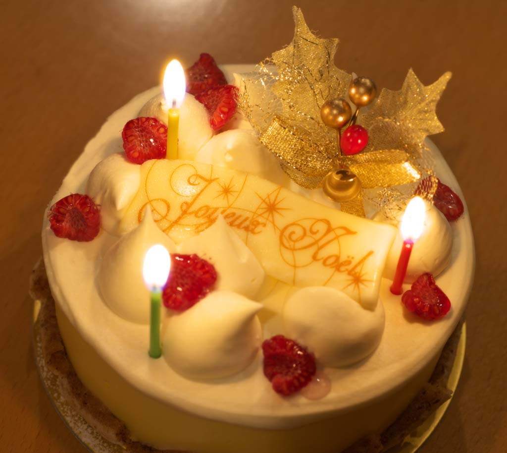 ゆんフリー写真素材集 No 5686 クリスマスケーキ 日本 東京