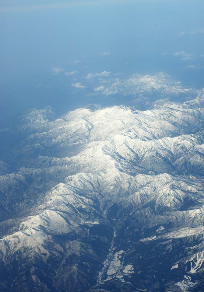 photo,material,free,landscape,picture,stock photo,Creative Commons,Hakusan, The snowy mountains, sword peak, Hakusan faith, Sacred mountain