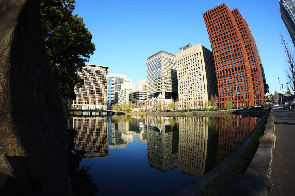 foto,tela,gratis,paisaje,fotograf�a,idea,D� la vuelta a la construcci�n, Un edificio de oficinas, Mitsubishi Estate, Tokio notaba el puesto, Una excepci�n sistema de �rea de aplicaci�n de proporci�n de �rea de piso