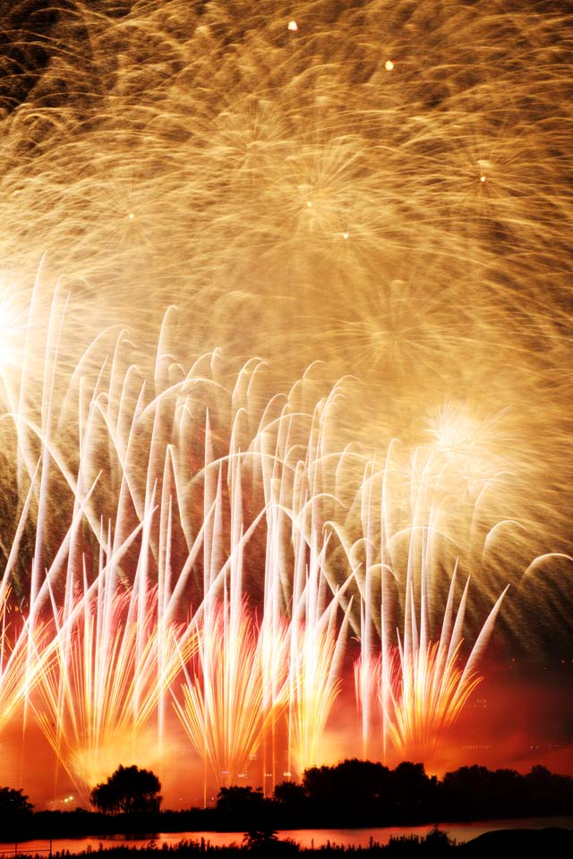 photo,material,free,landscape,picture,stock photo,Creative Commons,A skyrocket, Gunpowder, star mine, Launching, natural scene or object which adds poetic charm to the season of the summer