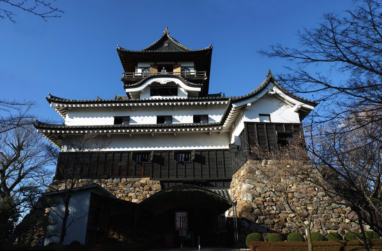 photo, la matière, libre, aménage, décrivez, photo de la réserve,Inuyama-jo tour du château du Château, château, trésor national, , Nobuyasu Oda