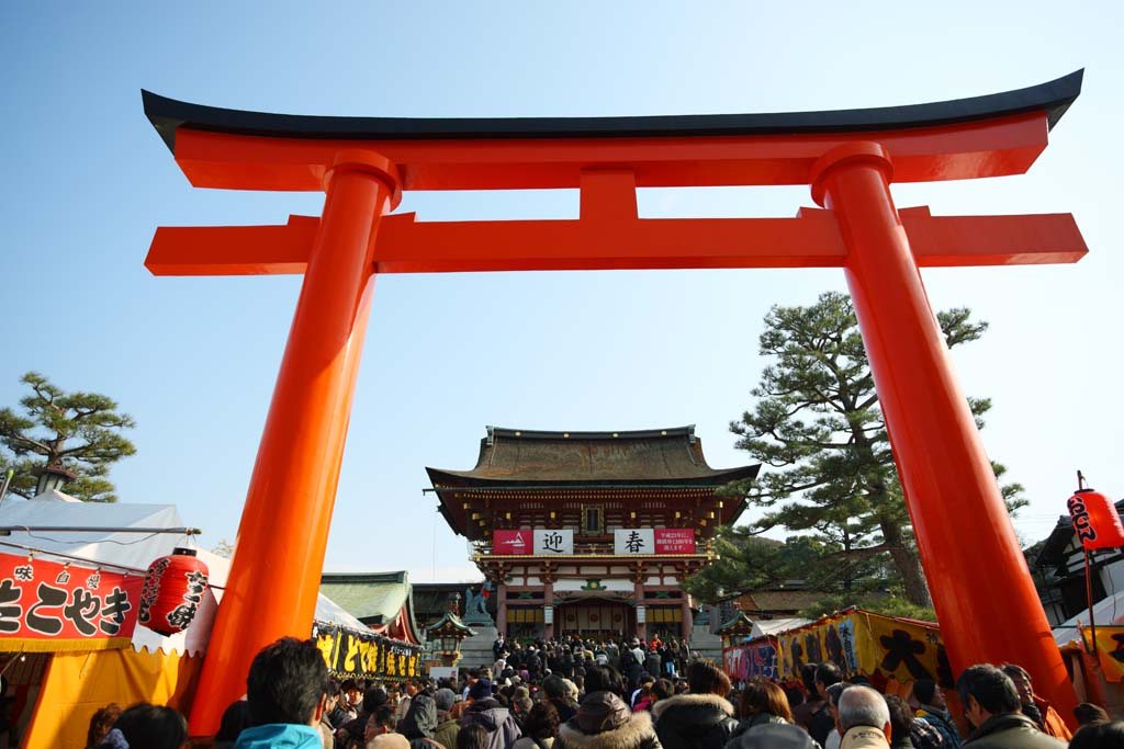 ����, ������������, ���������, ������, ����������, ���� �����.,Fushimi-����� Taisha Shrine ������ � shrine, ����� ��������� ���� � Shinto shrine, torii, �����, ����