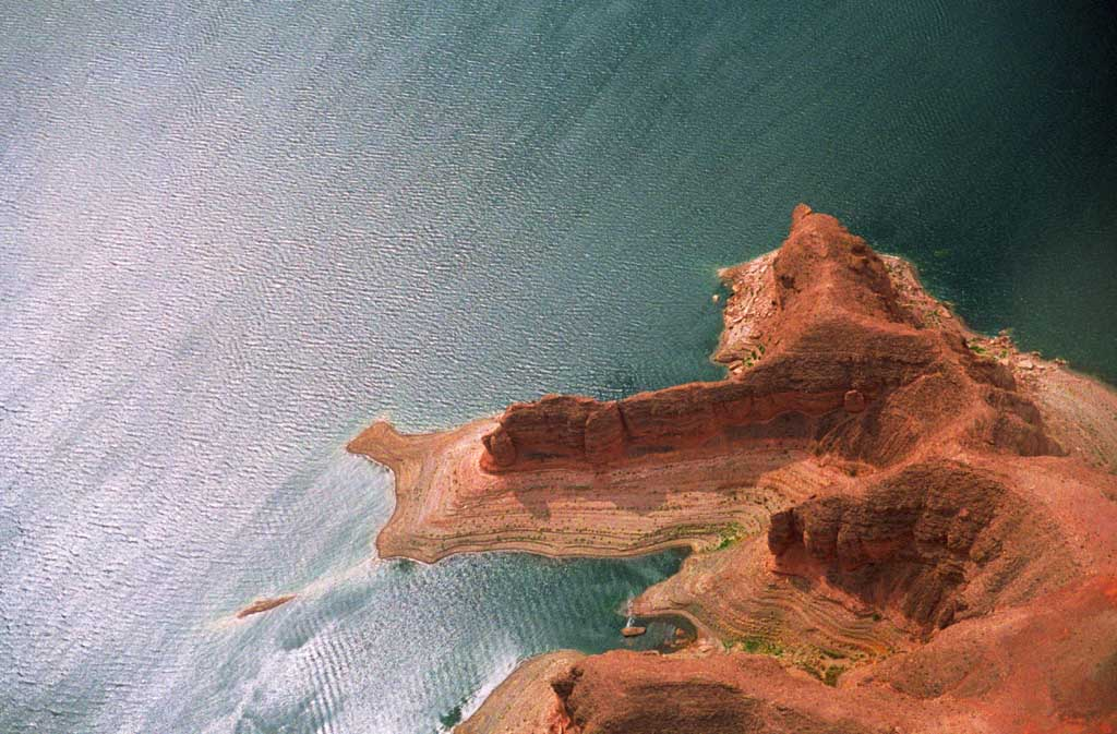 fotografia, material, livra, ajardine, imagine, proveja fotografia,Cliff, lago, sol, precip�cio, lago, ,