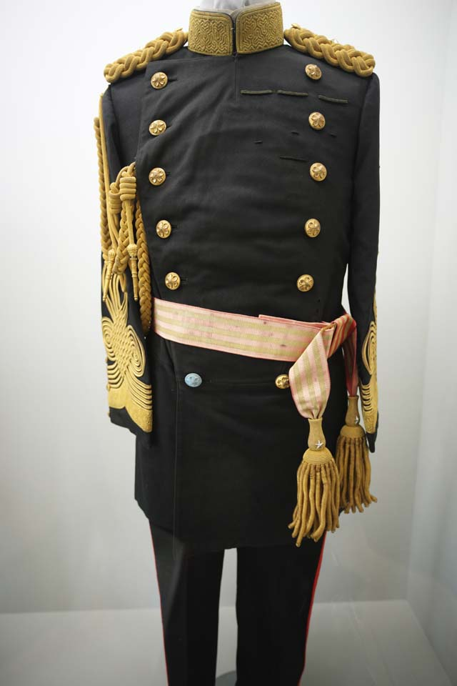 photo,material,free,landscape,picture,stock photo,Creative Commons,Meiji-mura Village Museum military uniform, The armed forces, The Westernization, uniform, Cultural heritage